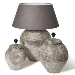 Lamp Antiek Wit Gentong