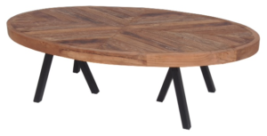 Oval Coffee Table 120X60XH35